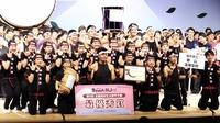 勝山高校「太鼓甲子園」で日本一