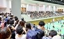 山口茜、山県亮太に観客計1万人超