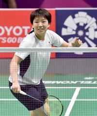 バドミントン日本代表が初練習