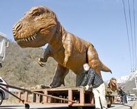 恐竜親子、久々のうなり声
