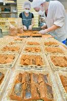 夏の風物詩わらび餅製造ピーク 県内の菓子店