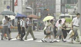 史上2番目に遅かった一昨年の梅雨入り(05/06/27)