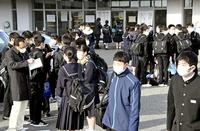 県立高入試、初日3987人が受験