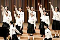 21団体、合唱歌声高らかに
