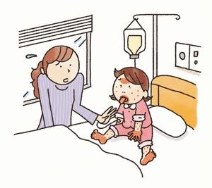 川崎病の患者増、発熱など症状多様