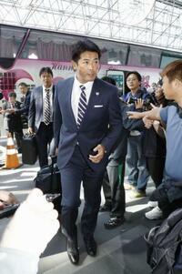 プレミア12、日本代表が帰国