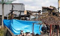 住宅全焼し3人死亡、茨城
