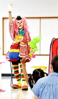 ピエロの「あっぷちゃん」 和田公民館主事 上野正代さん 子どもの笑顔が原動力 ふくい宝人 和田地区