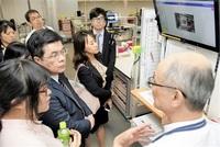 救急医療連携学ぶ 福井大病院 台湾訪日団が視察