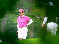 首相、山梨で再びゴルフ