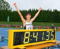 田中が女子3千メートルで日本新