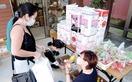 託された10万円、外国人に食材提供