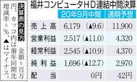 【中間決算】福井コンピュータHD コロナ影響、減収減益 通期予想も