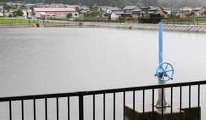 長雨でリスク、ため池を点検して