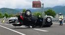北陸道下りで事故、一時通行止め