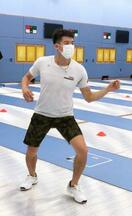 フェンシング代表が練習再開