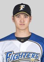 日本ハムの大谷翔平選手