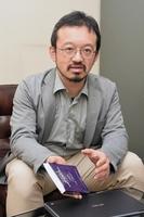 カフェイン摂取量について注意を呼び掛ける鈴木太准教授=福井県総合福祉相談所