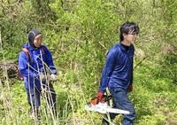 殿下に移住者次々 自然、人が魅力 連携 林業軸に多様事業 都市部の元会社員、学生…