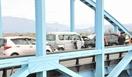 福井市で4台絡む事故、6人搬送