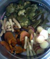 選りすぐりのベジタブル(温野菜)  ☆.∴*:.。. .。.:♪