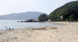 コロナ対策で水晶浜など海開き中止