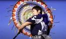 伝統芸「菊傘踊り」動画で発信