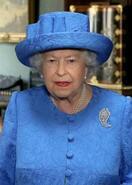 英女王、外出で自制求める