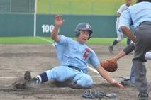 【写真】高校野球、啓新―敦賀工業
