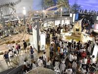 県立恐竜博物館開館(勝山市) 平成12(2000)年 「王国」の礎、本物に人波 ふくい平成あの時その後(2)