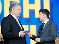 ウクライナ大統領選で討論会