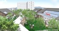 公園内 テナント棟並ぶ 敦賀駅西地区民間の提案公表