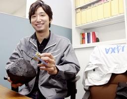 JAXAの研究開発員吉川健人さん