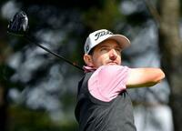 男子ゴルフ、クルーガーが首位