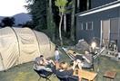 コロナでキャンプ人気、自宅の庭でも