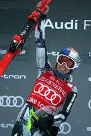 W杯女子滑降、レデツカが初勝利