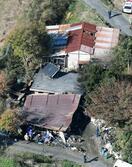 未明に住宅全焼し4人死亡、山口