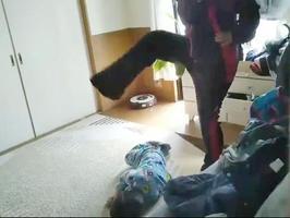 インターネット上に流れた暴行の様子の動画