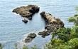日本列島そっくり、日本海に奇岩