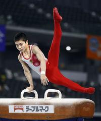 139センチの体に高い志 世界ジュニア体操に臨む岡 スポーツランド