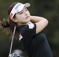 女子ゴルフ、福井出身のスター候補