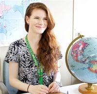 米は高校卒業が節目 県国際交流員ホリー・ハントさん 「18歳成人」を考える(3)