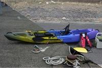カヤック2艇から立て続けに「風が強くて陸に戻れない」 春の日、シンクロする海のトラブル2件【敦賀海保日誌】