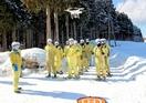 電気安定供給へ事故想定し雪中訓練