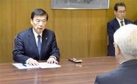 関電副社長「提示へ全力」 県と約束踏まえ、進捗示さず 使用済み燃料中間貯蔵地点