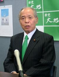 鈴木宗男氏、参院選に強い意欲