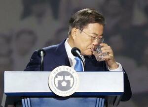 元徴用工問題で日本に対話求める 韓国大統領、展望描けず   全国の ...