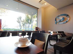 美術館帰りの休憩も普段のコーヒーも心地よい空間でほっとする