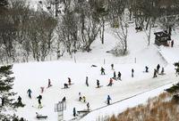 国内14年ぶりスキー場が開業