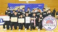 男子丹南、女子御陵制す ミニバスケット全国大会県予選会 3月、東京へ
